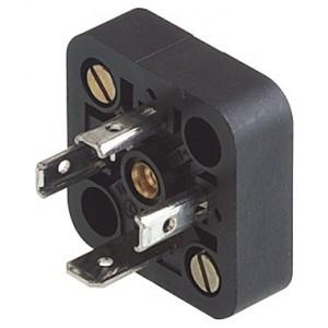 Base para ficha 18 mm DIN 43650