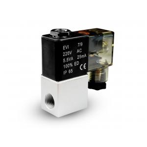 Válvula solenóide para arejar e co2 2V08 1/4 230V 24V 12V