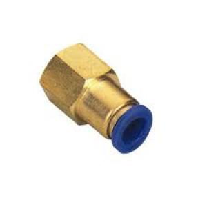 Mangueira de mamilo de 6 mm rosca interna 1/4 de polegada PCF06-G02