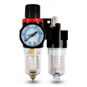 Filtro desidratador regulador lubrificador FRL 1/4 de polegada definido para arejar AFC2000