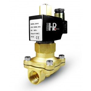 Válvula solenóide aberta 2N20 NO 3/4 de polegada 230V ou 12V, 24V, 42V