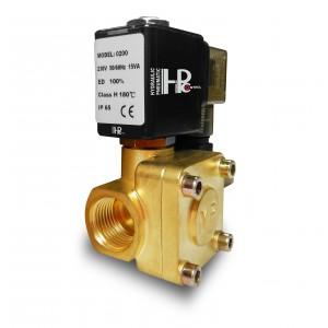 Válvula solenóide 2K25 1 polegada 230V ou 12V 24V