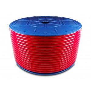 Mangueira pneumática de poliuretano PU 16/11 mm 1m azul