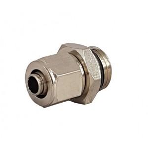 Conexões rápidas para tubo 6/4 com rosca 1/8 de polegada RPC 6/4-G01